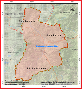 trifinio map